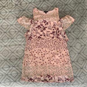 As U Wish - Pink Floral Dress